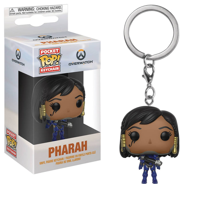 POCKET POP OVERWATCH PHARAH KEYCHAIN (C: 1-1-2)