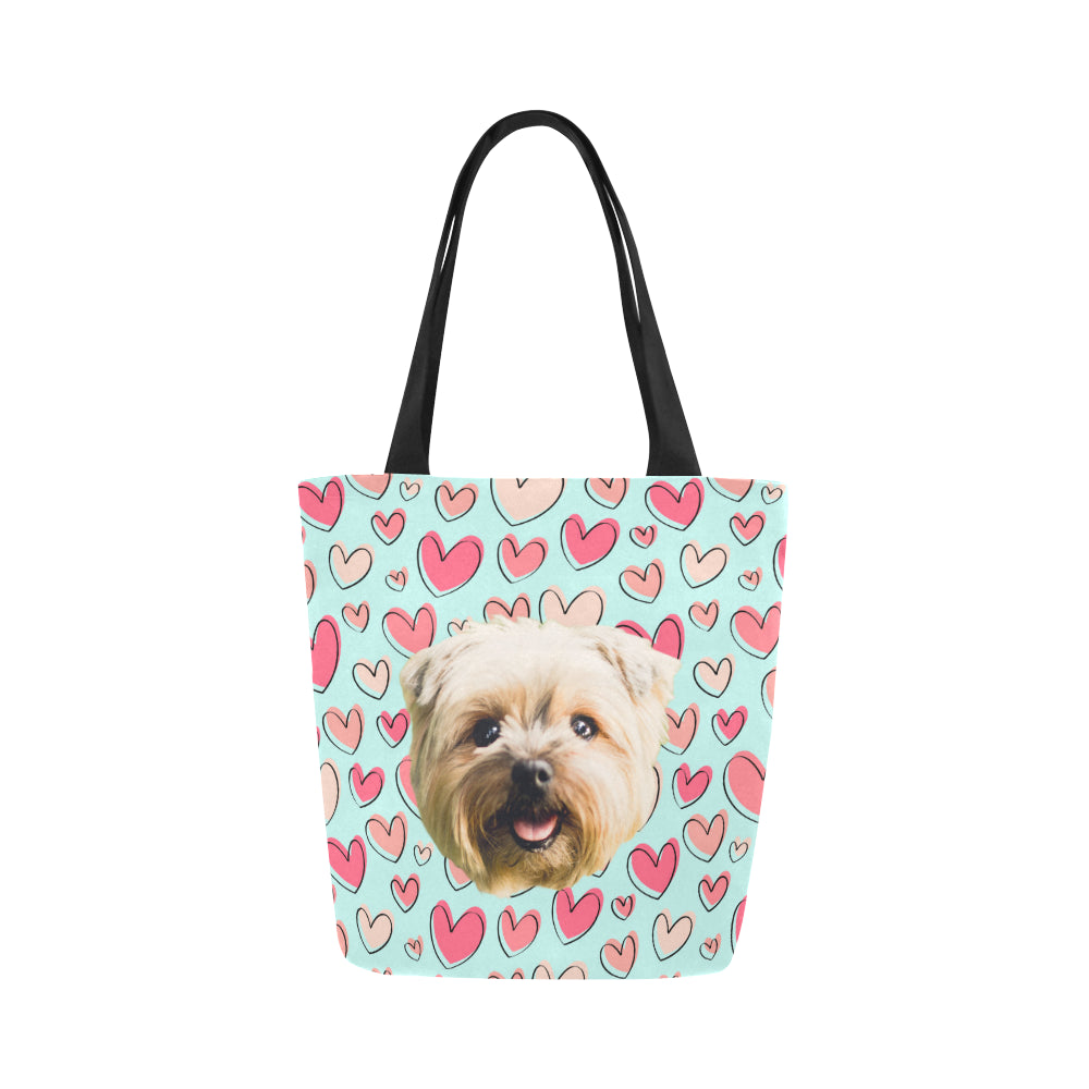 Cutie Heart Tote Bag