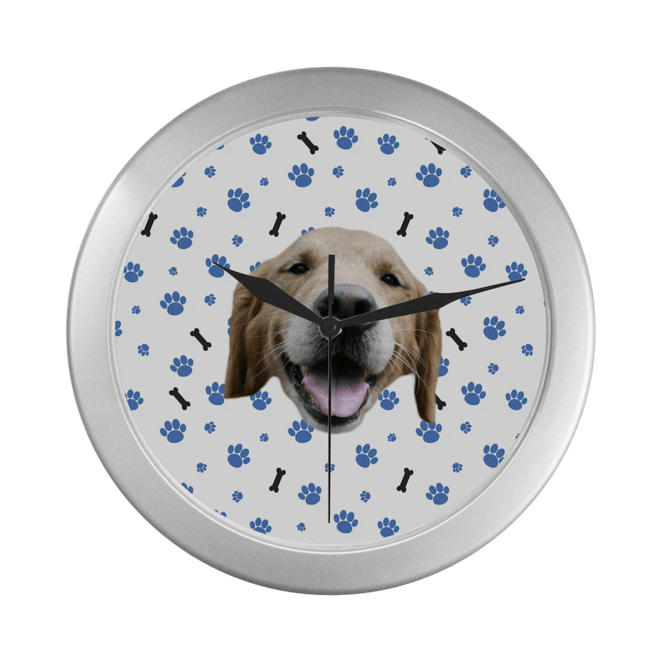 Custom Dog Wall Clock