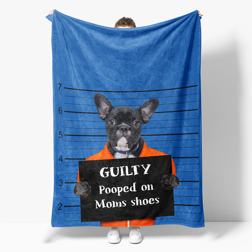 Custom Bad Dog Blanket
