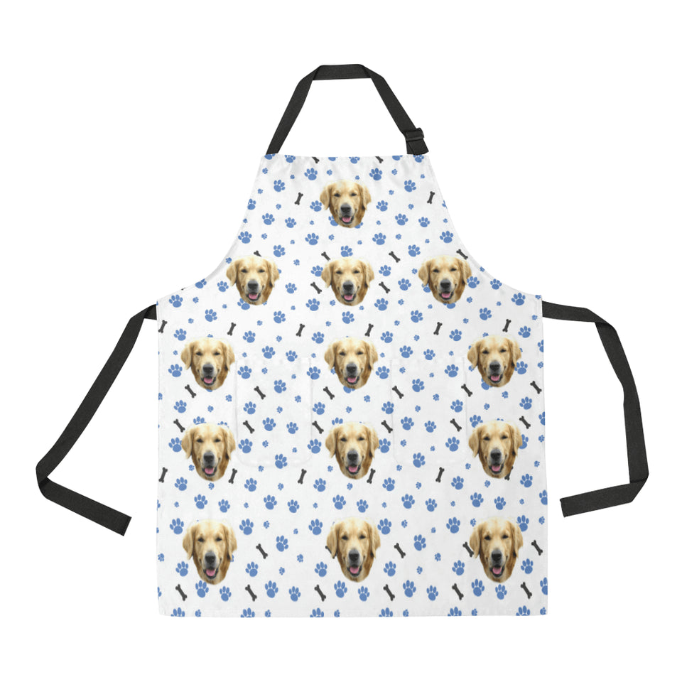 Custom Dog Cooking Apron