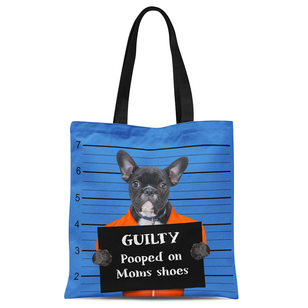 Custom Bad Dog Tote Bag