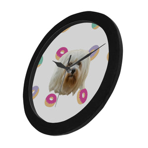 Donut Heaven Wall Clock