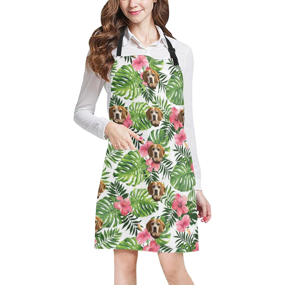 Tropical Palm Cooking Apron