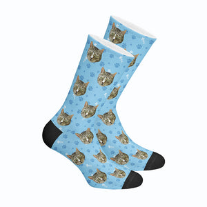 Custom Cat Socks