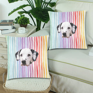 Rainbow Dreams Pillow Covers