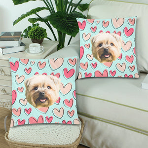 Cutie Heart Pillow Covers