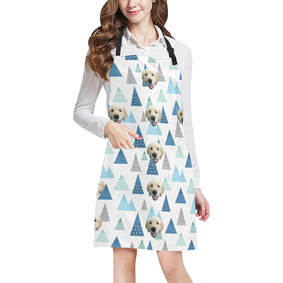 Snowy Mountain Cooking Apron