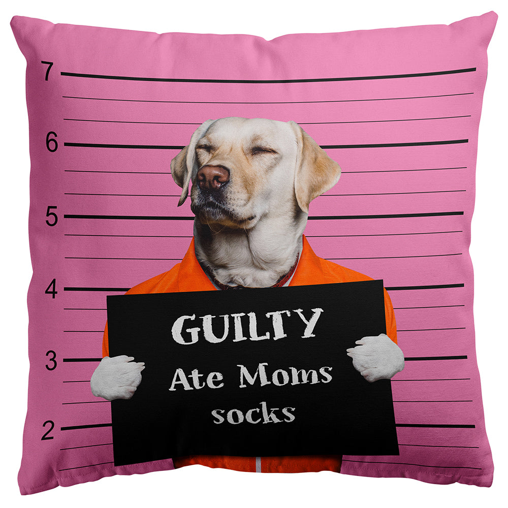 Custom Bad Dog Pillow Covers