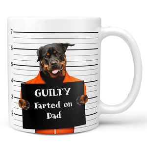 Custom Bad Dog Mug