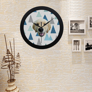Snowy Mountain Wall Clock