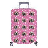 Custom Dog Luggage Cover