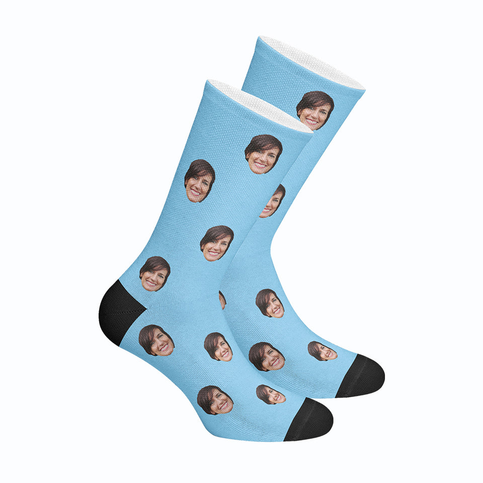 Custom Human Face Socks