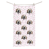 Custom Dog Bath Towel