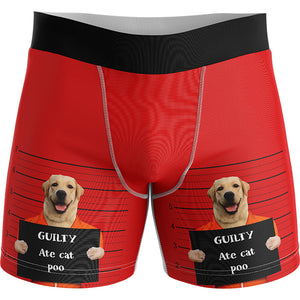 Custom Bad Dog Men's Boxers