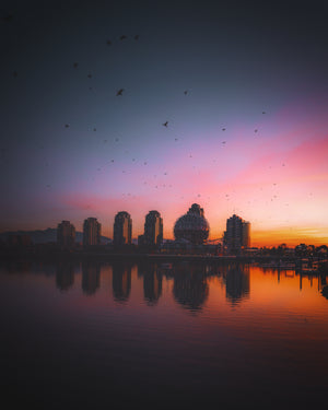 Telus Science World Sunrise