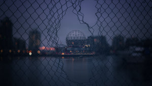 Science World Through the Fence