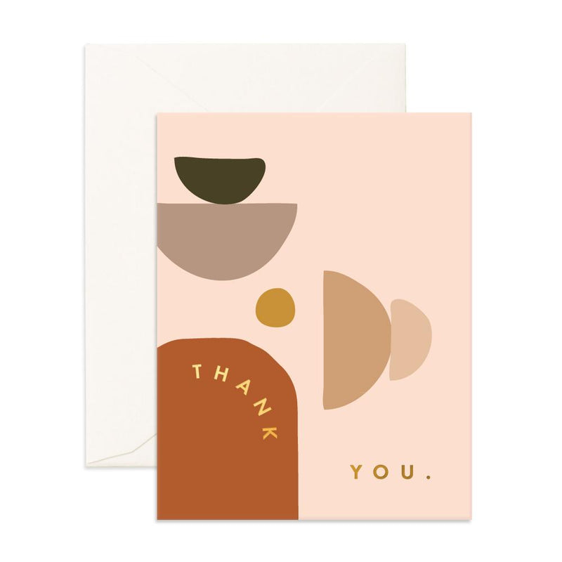 Thank You Stones Greeting Card