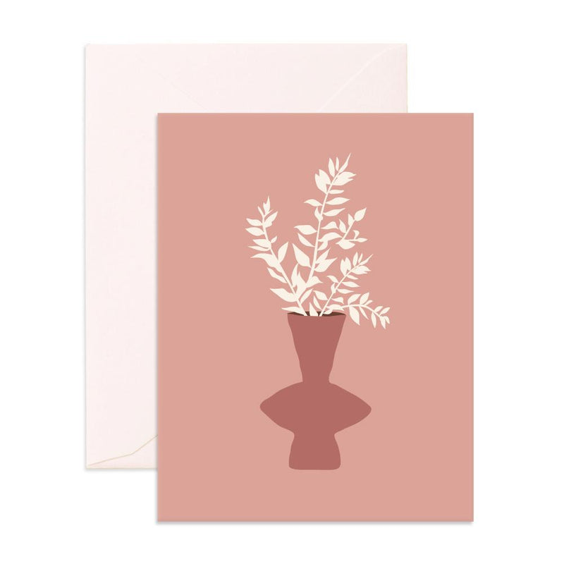 Still Life Ruscus Greeting Card