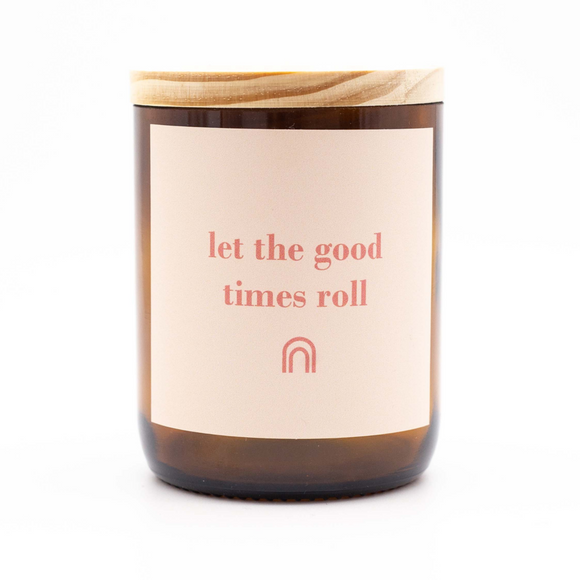 Happy Days Soy Candle - Good Times Roll