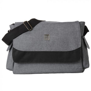 VOGUE MESSENGER BAG - GREY