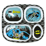 DC Comics Melamine Divided Plate