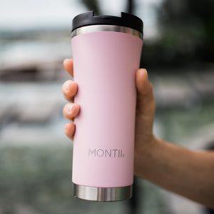 HOT STUFF REUSABLE COFFEE CUP - DUSTY PINK