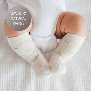 Lamington Merino Wool Knee High Socks | Baby | Rosie