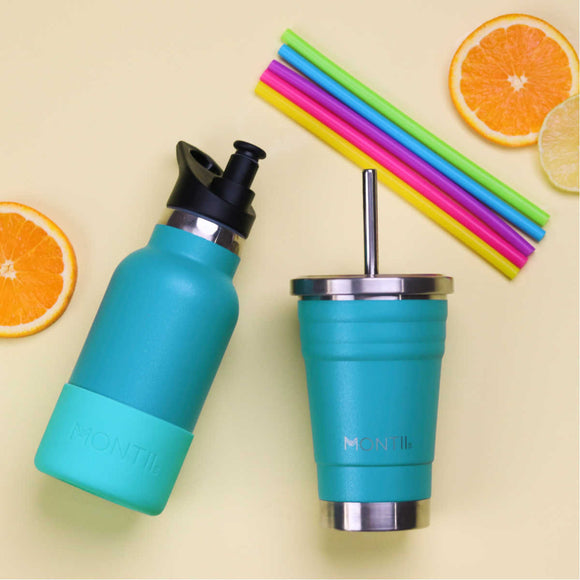 MONTIICO MINI SMOOTHIE - GLITTER AQUA