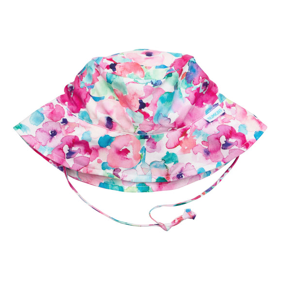 Bumkins Sun Hat - Watercolour