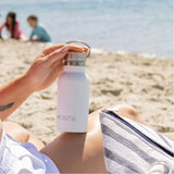 Handbag Hero Drink Bottle - White