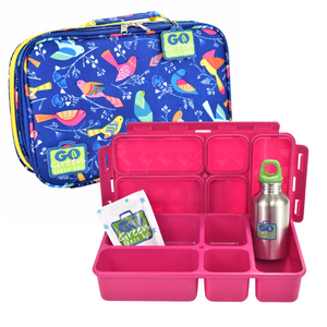 Go Green Lunchbox set - Tweety Pink