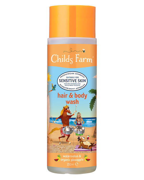 CHILDS FARM HAIR & BODY WASH WATERMELON & ORGANIC PINEAPPLE