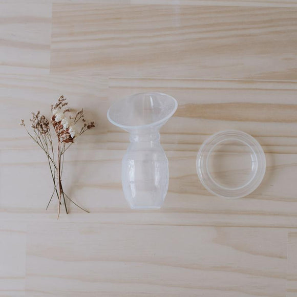 Milkbar Silicone Breast Pump With Lid
