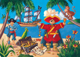 Pirate & Treasure 36pc Puzzle