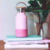 Handbag Hero Drink Bottle - Dusky Pink