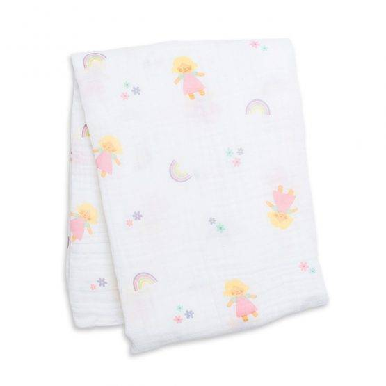Muslin Cotton Swaddle – Lulu