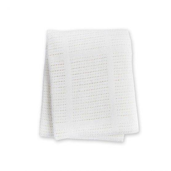 Cellular Blanket – White
