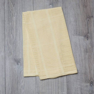 Cellular Blanket – Yellow