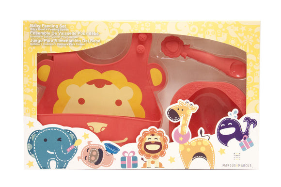 Marcus & Marcus Baby Feeding Set - Lion