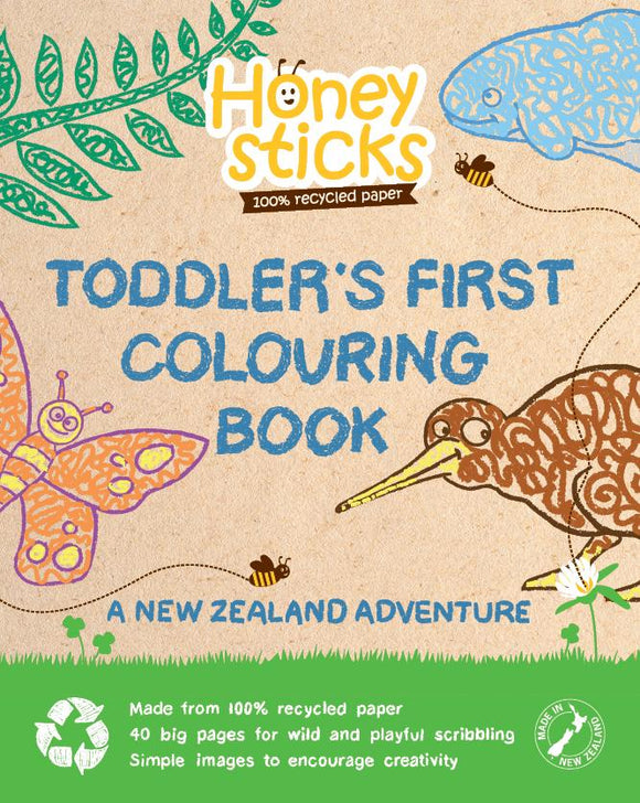 Honeysticks Colouring book- A NZ Adventure