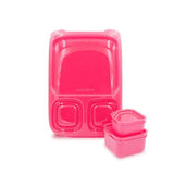 Goodbyn- Hero Lunchbox - Neon Pink Red