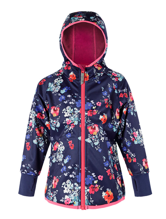 Therm Outdoor - All-Weather Hoodie - Floral Bloom | Waterproof Windproof Eco