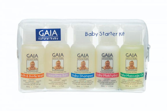 GAIA- NATURAL SKIN CARE STARTER PACK 50ML X5