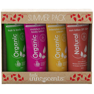 ORGANIC SUMMER TRAVEL PACK
