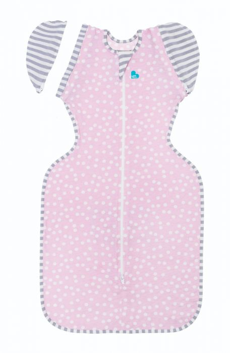 SWADDLEUP TRANSITION SLEEP BAG LITE PINK