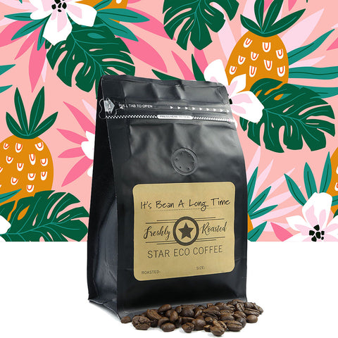 Image of Eco Star fresh coffee - It's Bean A Long Time