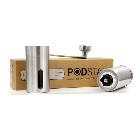 Image of Pod Star Stainless Steel Coffee Grinder