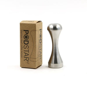 Pod Star Stainless Steel Coffee Tamper