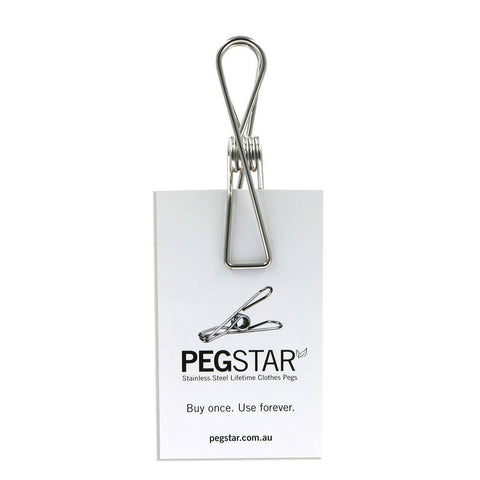 Peg Star Stainless Steel Pegs